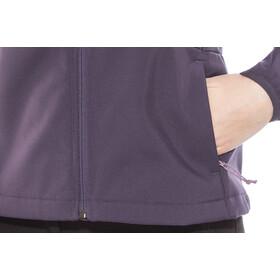 The North Face Tanken Highloft Chaqueta Softshell Mujer, dark eggplant purple/black plum